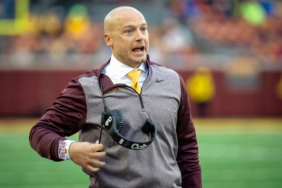Minnesota coach P.J. Fleck has the Gophers 8-0 and just signed a contract extension. He got his start in college football thanks to Northern Illinois coach Joe Novak.