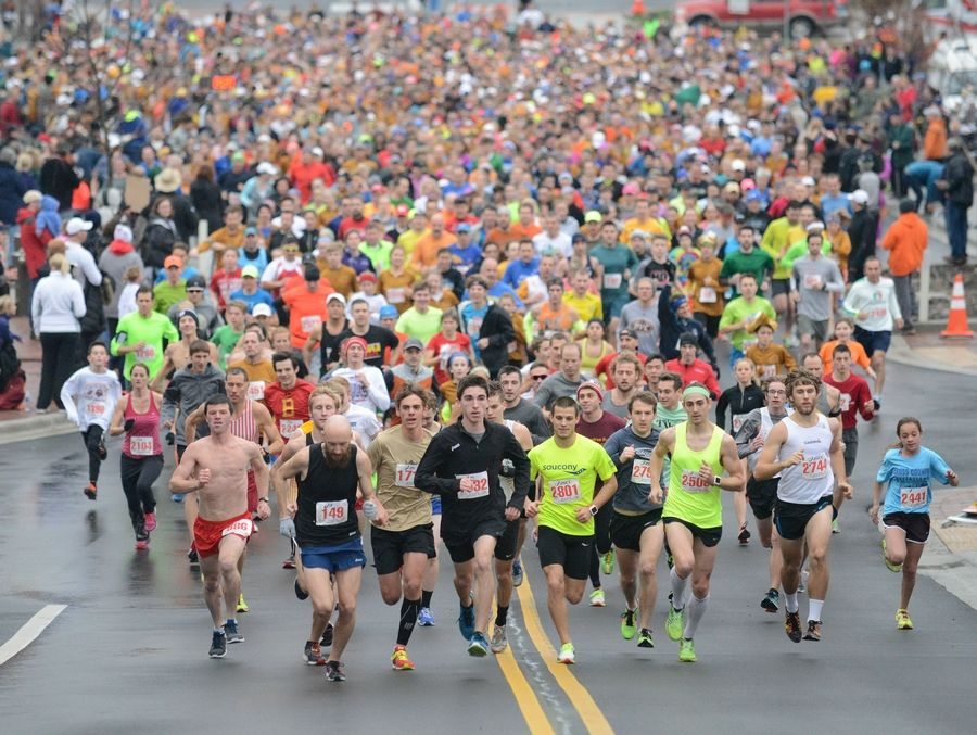 The Fox and the Turkey races, presented by the Fox River Trail Runners in Batavia, are a popular way to burn off calories on Thanksgiving Day, as well as to support a local charity.