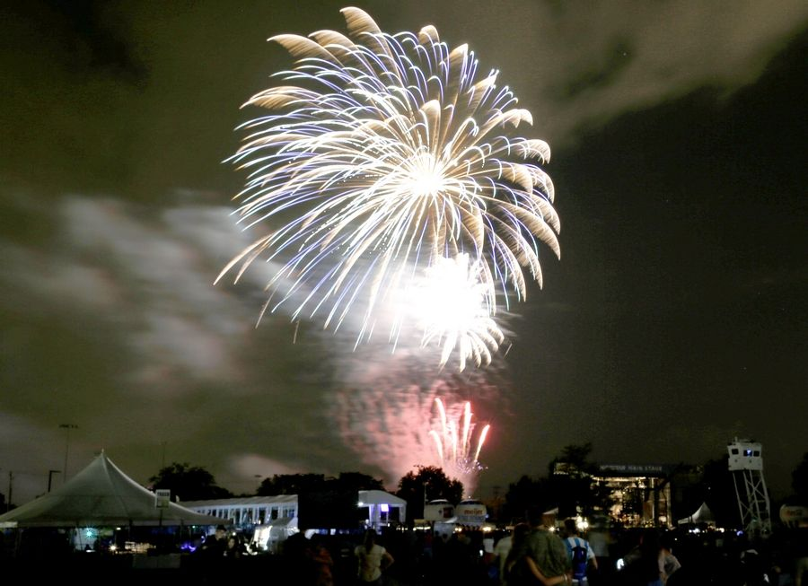 A new Fourth of July festival in Naperville will allow residents to see fireworks in town.