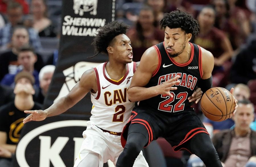 Otto Porter will be sidelined indefinitely with a left foot sprain, which means second-year forward Chandler Hutchison will start on Saturday against the Houston Rockets.