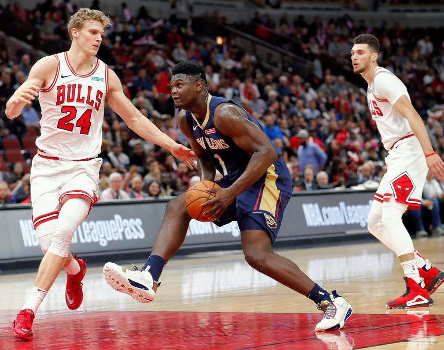 The Bulls began their rebuild by acquiring Zach LaVine and Lauri Markkanen. So far, they haven't played well together, but that's not for a lack of trying.