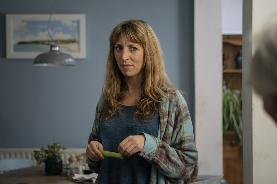 "Daisy Haggard stars in Showtime's ""Back to Life,"" premiering Sunday, Nov. 10."