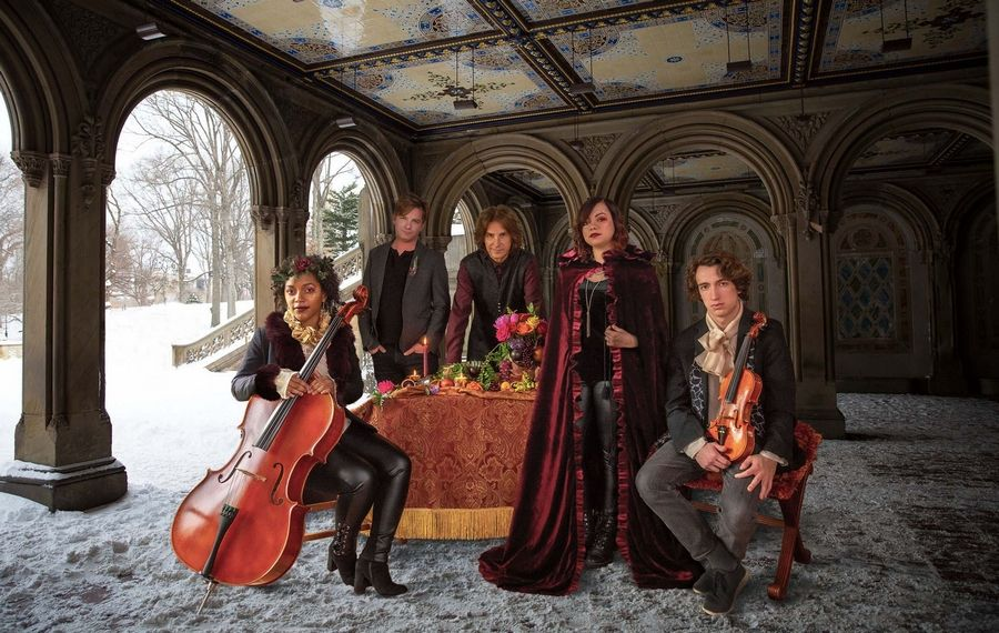 Classical Blast members include (left to right) Kelsee Vandervall, Dave Kelly, Bll Syniar, Sophie Monroy & Scott DanielRay Weigand