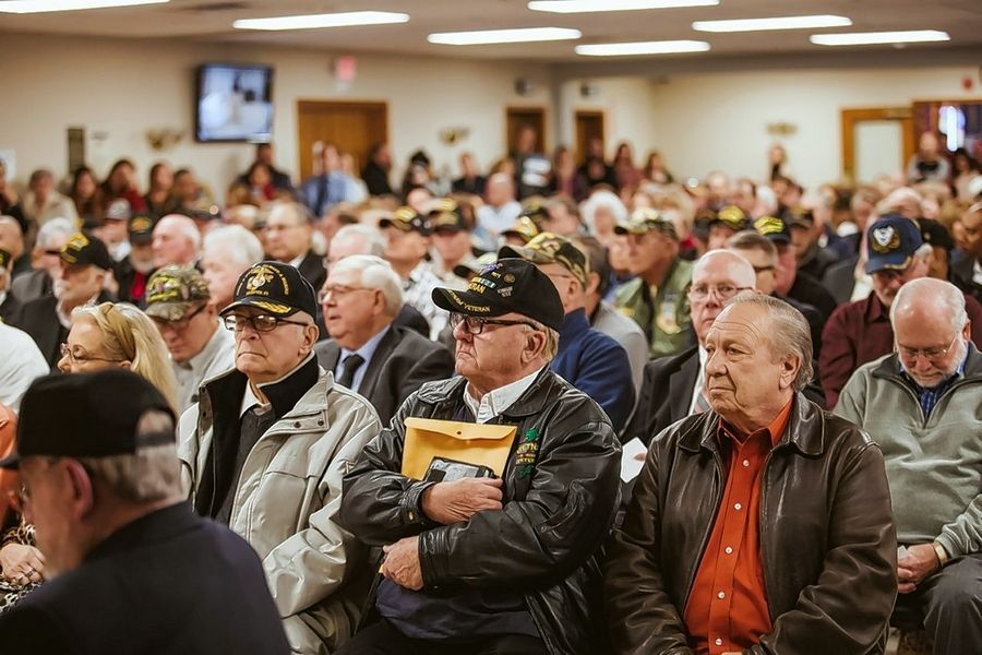 More than 200 veterans from the Vietnam War era were honored Sunday in an event hosted by U.S. Rep. Lauren Underwood in McHenry.