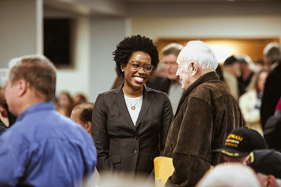 The pinning ceremony hosted by U.S. Rep. Lauren Underwood on Sunday in McHenry is part of an ongoing national effort to honor those who served from Nov. 1, 1955, to May 15, 1975.