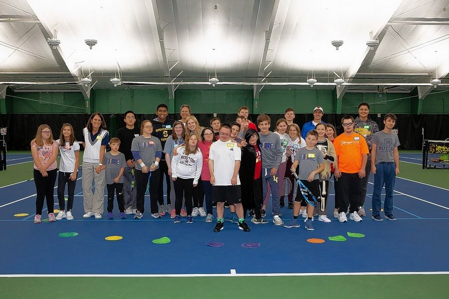The groups of special athletes and buddies keep growing in Buddy Up Tennis.