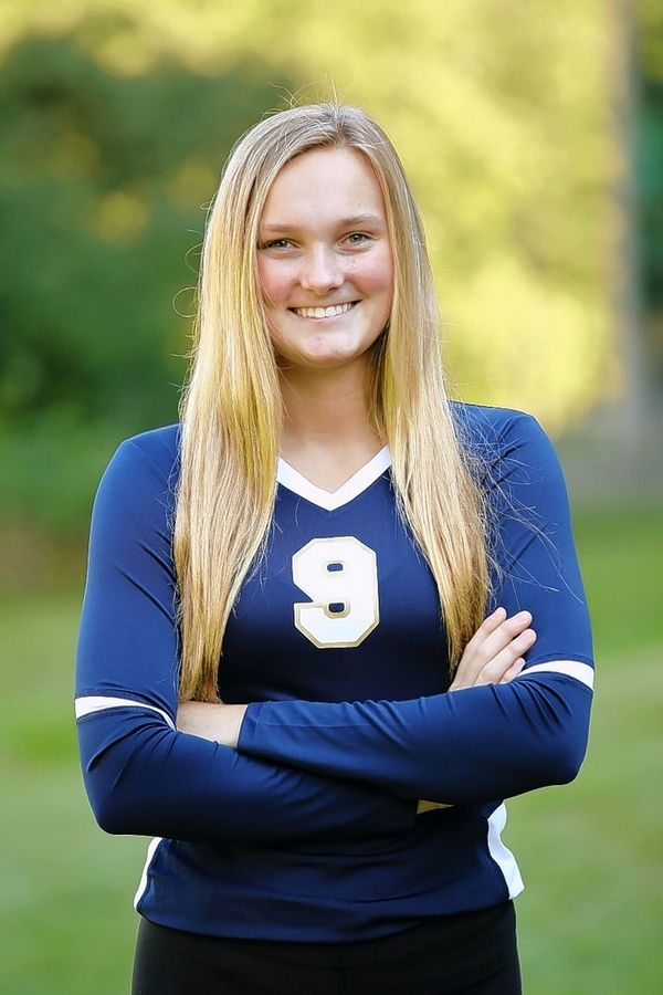 Hayley Martin, Harvest Christian volleyball