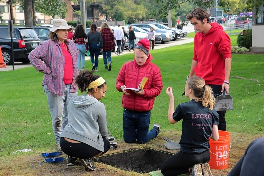 Before the early arrival of wintry weather, archaeology students at Lake Forest College spent the fall excavating a site on campus that once was home to an African Methodist Episcopal Church.