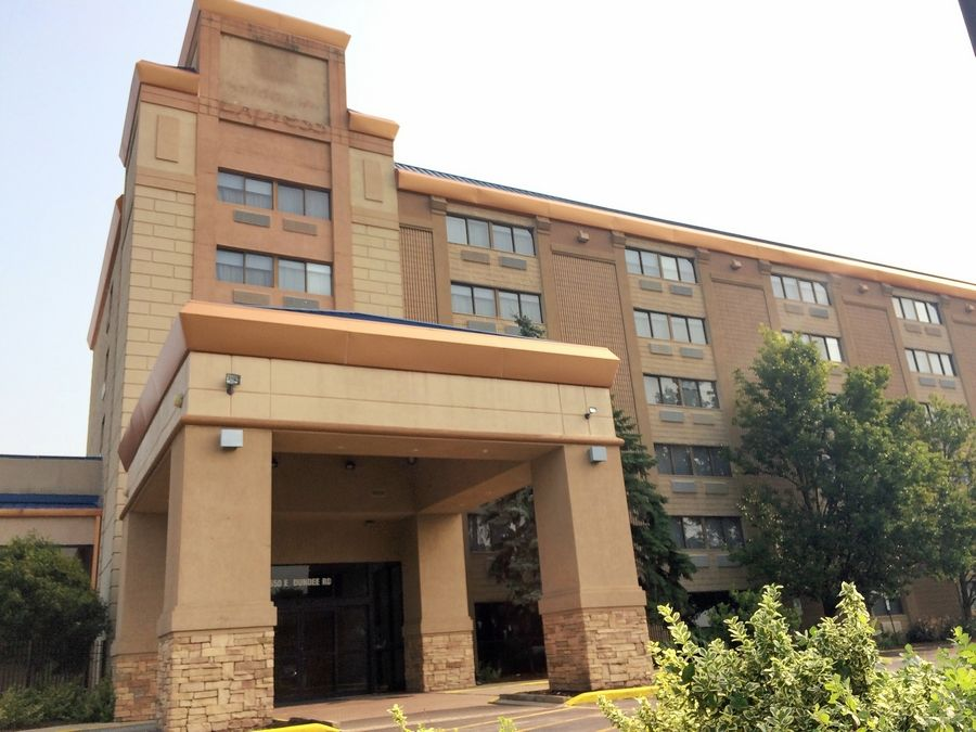 Hotel-motel receipts are expected to take a hit in Palatine due to this year's closure of the 183-room Holiday Inn Express near the northwest corner of Route 53 and Dundee Road.
