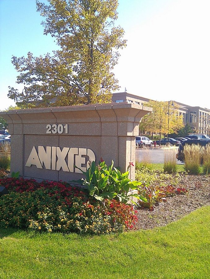 Glenview-based Anixter International said Friday it has amended the per share price in its acquisition bid by New York private equity firm Clayton, Dubilier & Rice to $82.50, increasing the deal's total to $3.9 billion.