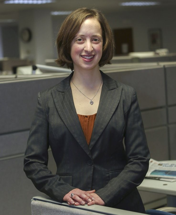 Marie Wilson, reporter at the Daily Herald in DuPage County.