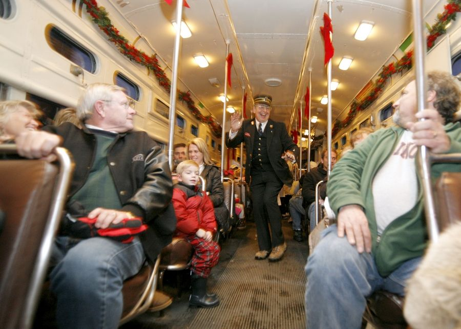 The Fox River Valley Trolley Museum's Polar Express returns on Sunday, Nov. 24.