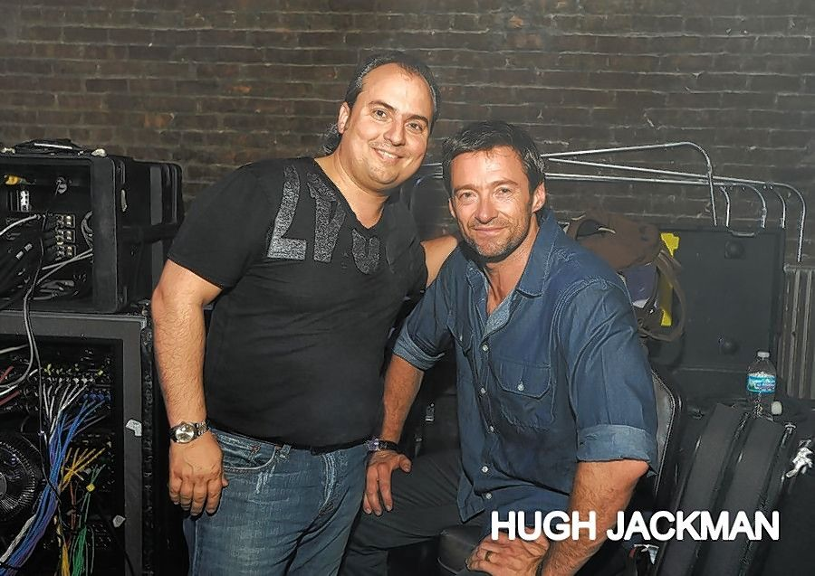 "In the recent movie ""The Greatest Showman,"" Hugh Jackman, right, played P.T. Barnum, one of the ""heroes"" who inspires Ron Onesti."