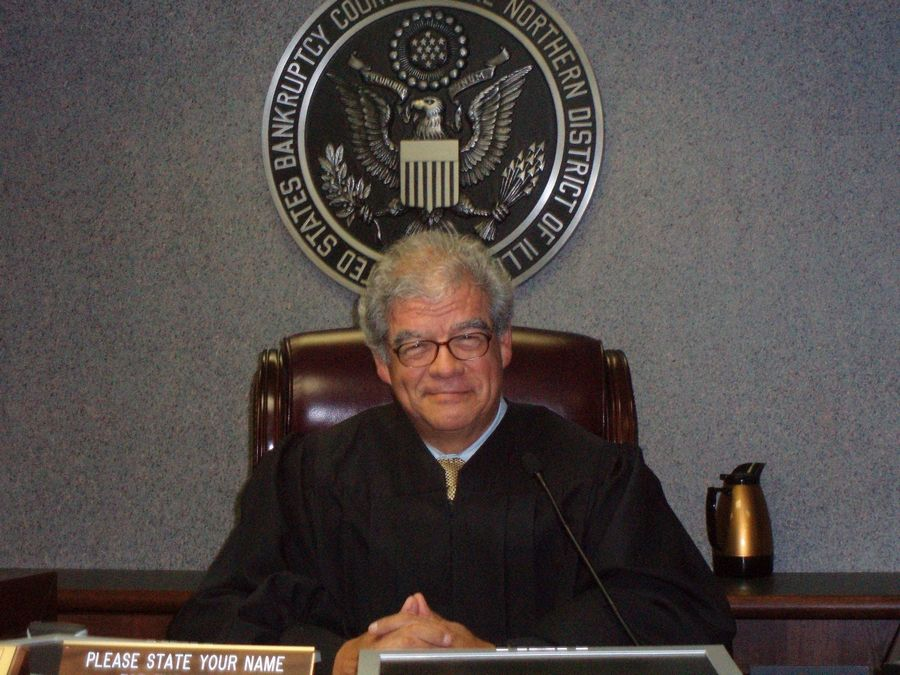 PHOTO COURTESY of MANUEL BARBOSAFormer federal bankruptcy Judge Manuel Barbosa of Elgin, pictured here in 2012, came to the United States from Mexico with his migrant worker parents when he was 2 months old. He died Monday.
