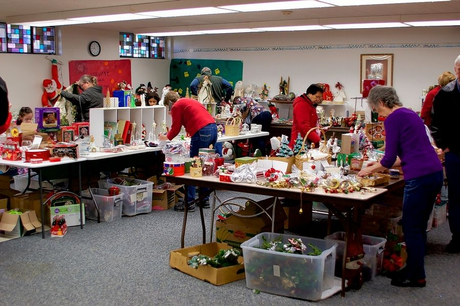 Stop by the Dundee Township Historical Society's Dickens of a Sale at Bethlehem Lutheran Church in West Dundee.