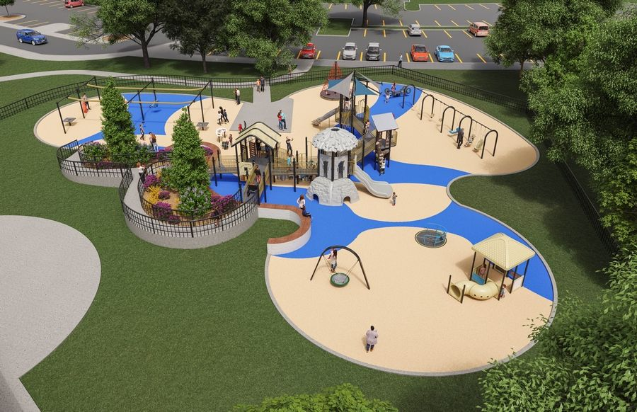 Discovery Playground, an all-inclusive playground, is currently under construction in Community Park. On Giving Tuesday Dec. 3, Facebook will be matching donations to eligible 501(c)3 nonprofits, such as the Lisle Partners for Parks Foundation, on a first-come-first-serve basis.