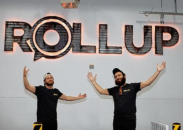 Co-founders Levi Cohen and Joseph Ely have opened ROLLUP, a concept that offers small and medium-sized warehouse spaces on demand -- at Innovation Park in Libertyville.