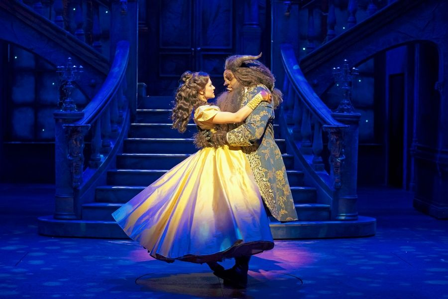 Theater Review Paramount S Beauty And The Beast Enchants With Magical Mix Of Thrills Laughs