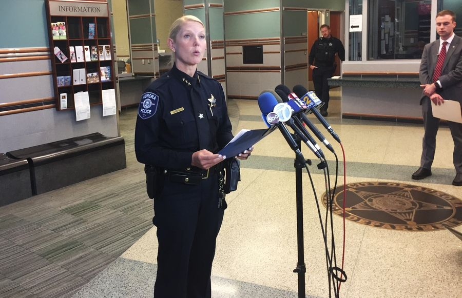 Aurora Police Chief Kristen Ziman is crediting an alert convenience store clerk with alerting officials to a woman who authorities say was drinking beer while driving a school bus.