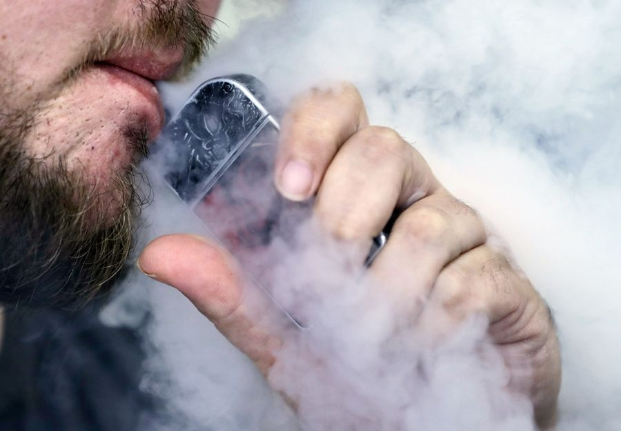 The American Medical Association said it is calling for an immediate ban on all electronic cigarette and vaping devices.
