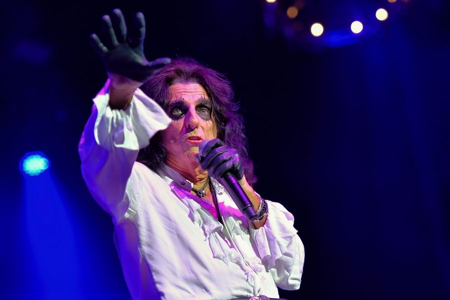 "Alice Cooper bring his ""Ol' Black Eyes is Back"" tour to the Genesee Theatre in Waukegan on Saturday, Nov. 30."