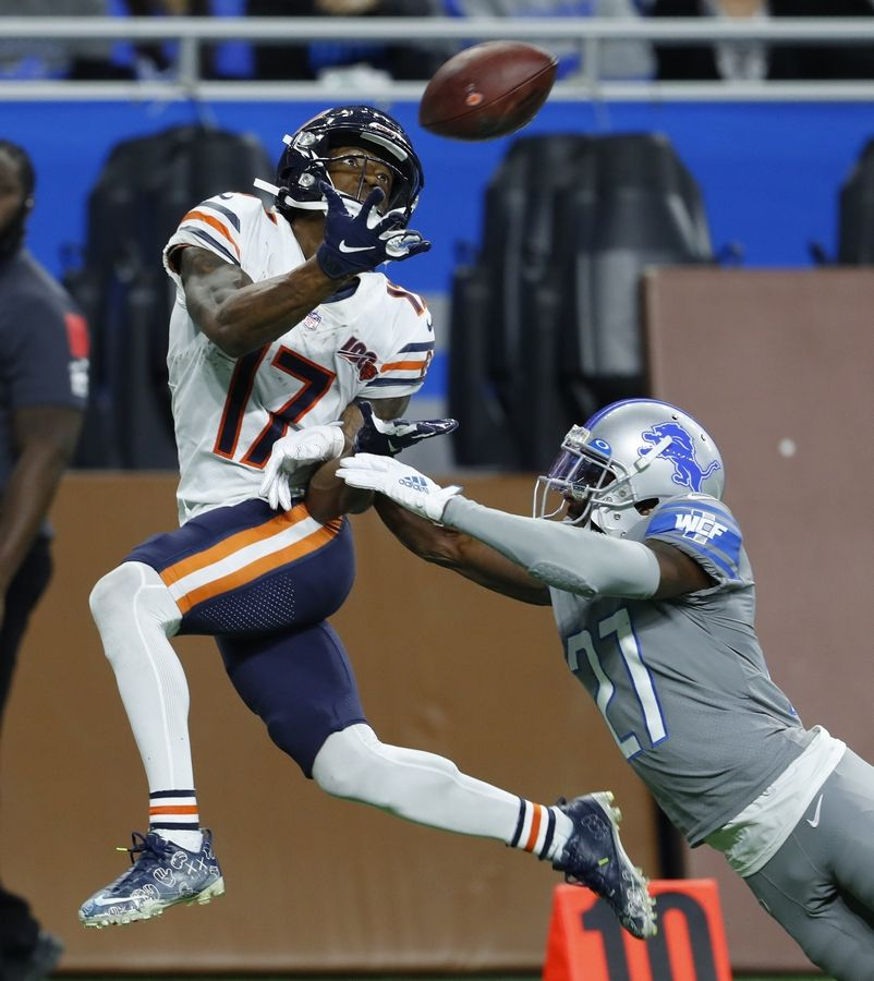 No one came through in crunch time for Mitch Trubisky more than Anthony Miller on Thanksgiving. The second-year receiver converted two monster third downs on the game-winning drive, accounting for 67 of his career-high 140 receiving yards.