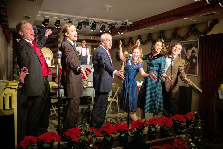 "Oil Lamp Theater stages a radio play adaptation of Frank Capra's beloved film ""It's A Wonderful Life."""