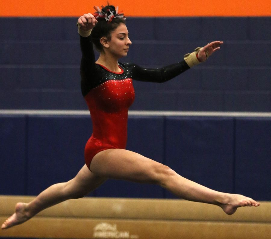 Gianna Murkowski is hoping to help the U-46 team improve on its top score of 121.65 last year.