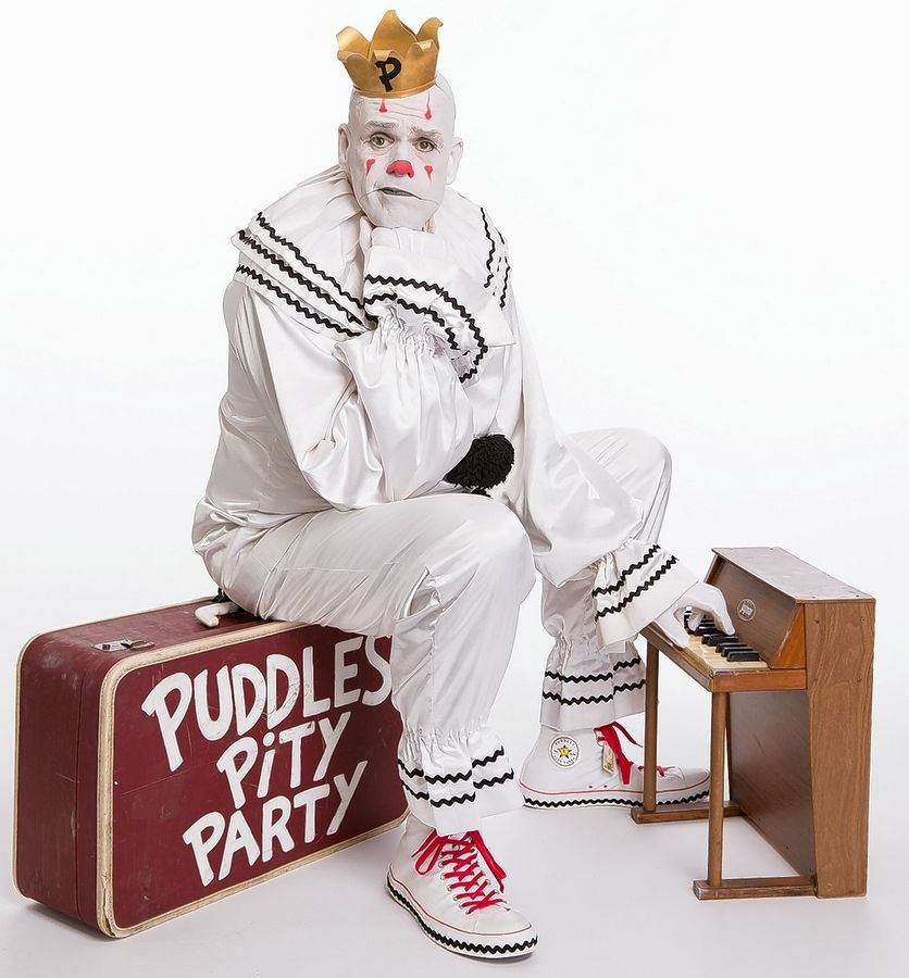 Puddles the singing clown brings Puddles Pity Party to the Raue Center for the Arts in Crystal Lake on Saturday, Dec. 7.