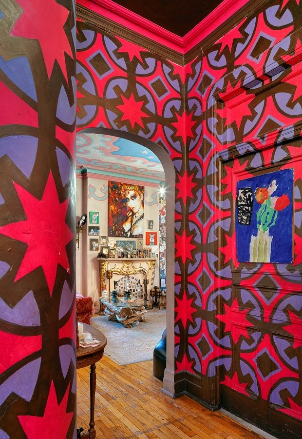 "Suzanne Bartsch's apartment is featured in ""Hotel Chelsea."" The book is a big, colorful celebration of more than two dozen residents, their living spaces and their stories."
