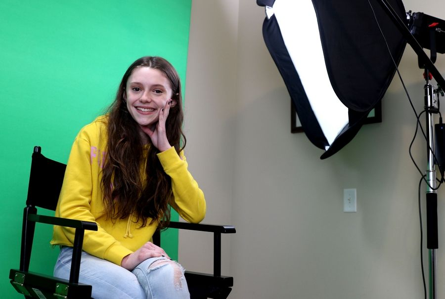 "In a new Showtime TV series called ""Work in Progress,"" Lauren Viteri, 15, of Algonquin has a recurring role as niece to the main character, a self-described ""queer dyke"" who threatens suicide before she starts dating a transgender man."