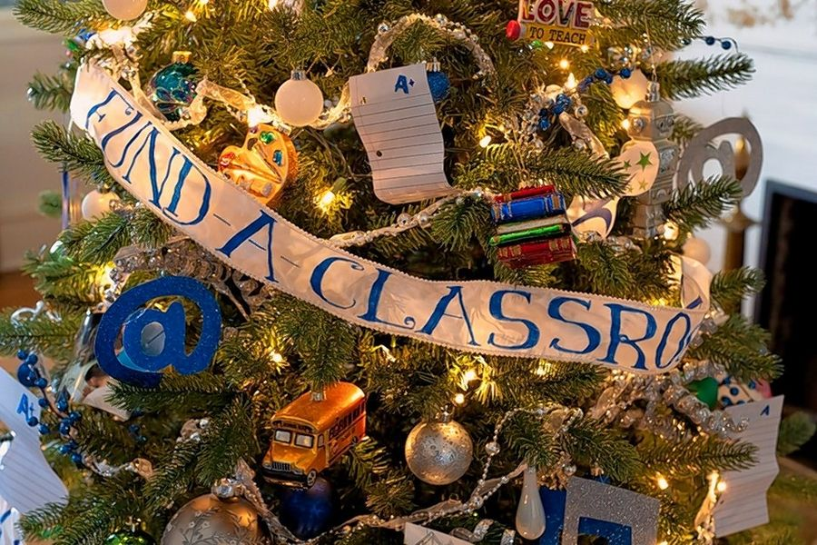 Vote for the Student Excellence Foundation at Cantigny's annual Community Trees event. Visitors may cast votes for their favorite group's tree from through Dec. 29.