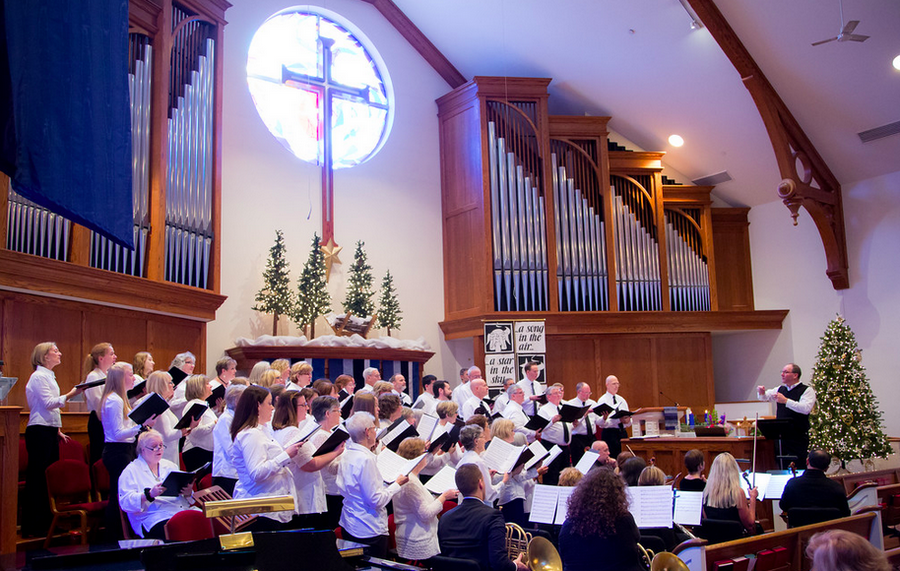 "The United Methodist Church of Geneva Cantata Choir, directed by Scott Stevenson, will present the Christmas cantata ""Rise Up!"" on Sunday, Dec. 15."