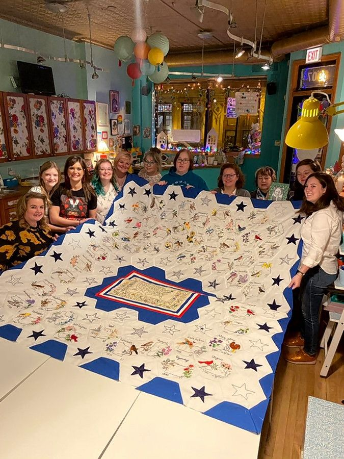 In an effort spanning the United States and Canada, women come together under the direction of crafting force Shannon Downey to work on #ritasquilt, the unfinished project of a 99-year-old Mount Prospect woman who died.