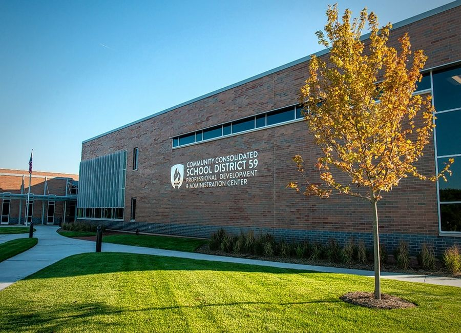 Some residents who attended an Elk Grove Township Elementary District 59 school board meeting Monday at the district administration center in Elk Grove Village questioned a plan to issue debt to pay for building work at schools.
