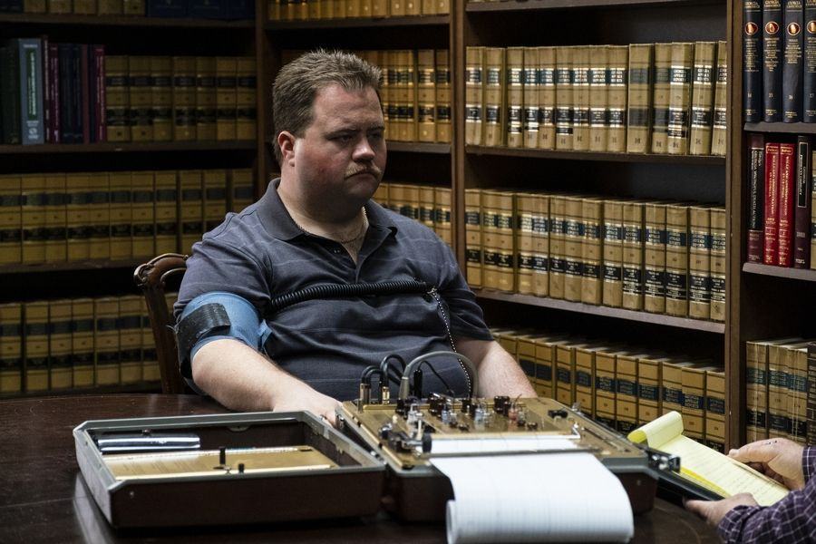 "A security guard (Paul Walter Hauser) who saved lives during the Atlanta Olympics bombing later falls under suspicion in ""Richard Jewell."""