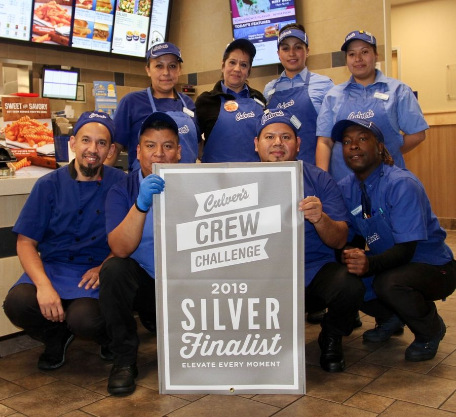Team members from Culver's of Lincolnshire will learn early next year whether they'll be the recipients of the $50,000 prize being awarded to the winning restaurant in the annual Culver's Crew Challenge. Company co-Founder Craig Culver's will make a special visit to the Milwaukee Ave. restaurant on December 16 to congratulate the team on making it into the Final 5.Dave Silbar / SilbarPR