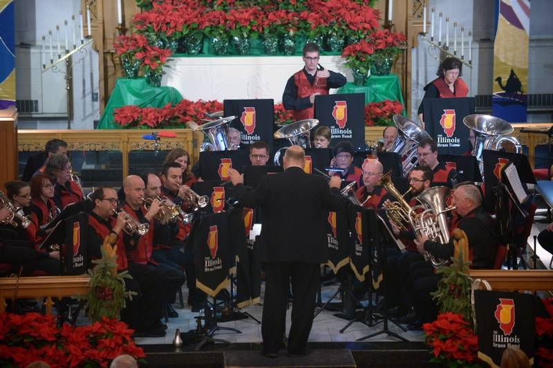 "The Illinois Brass Band will return to Baker Memorial United Methodist Church in St. Charles for its annual ""Holiday Classics"" concert on Saturday, Dec. 21."