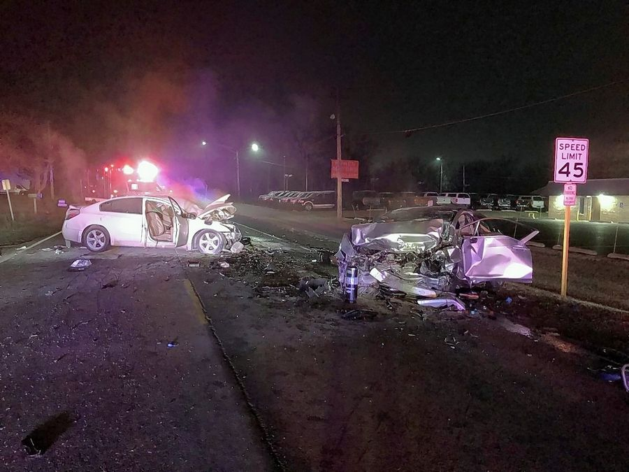 Three people, two from Waukegan and one from Beach Park, were killed early Saturday in a head-on crash in Beach Park.
