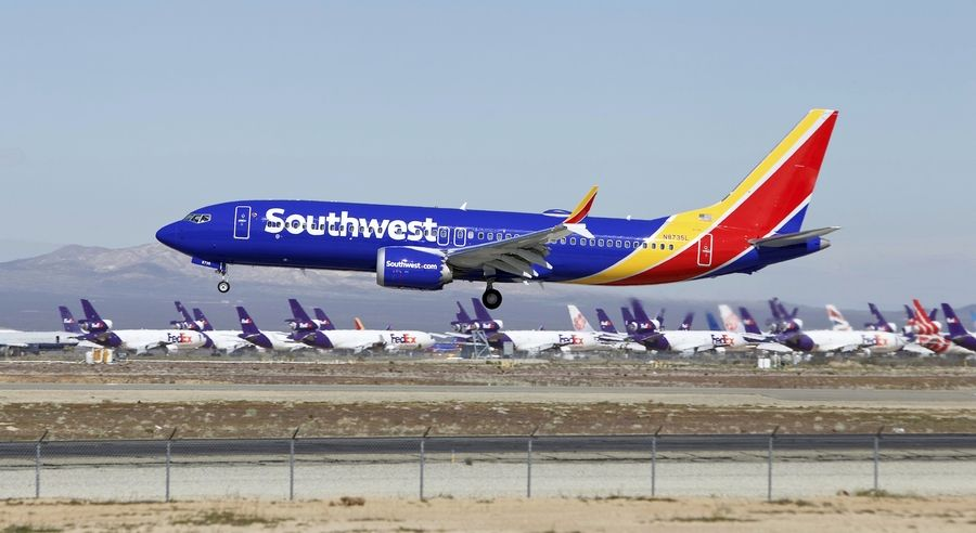Southwest Airlines will extend cancellations of Boeing 737 Max flights until mid-April, the company said Tuesday, amid ongoing uncertainty about when the aircraft will be allowed to return to service.