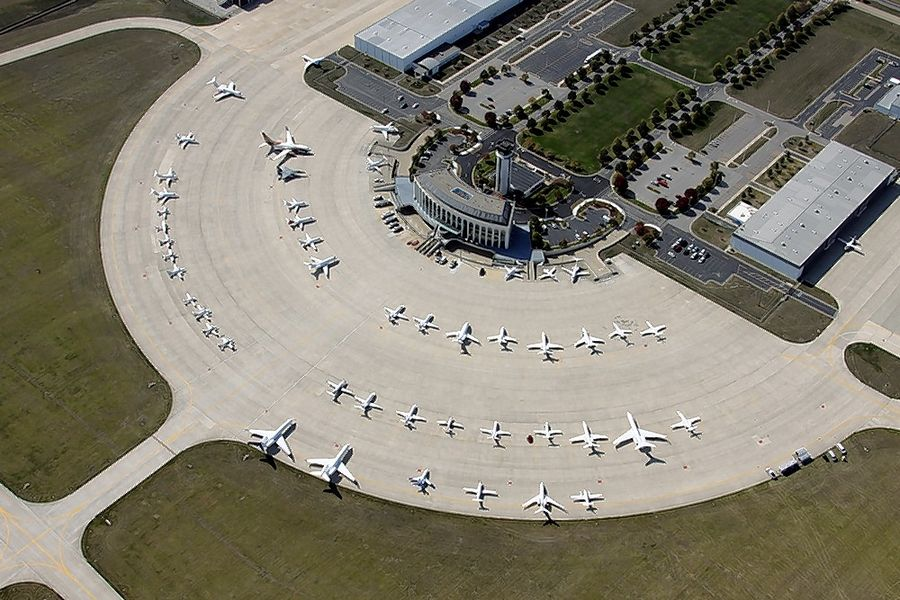 DuPage Airport in West Chicago is set to record its largest number of annual operations since 2005.