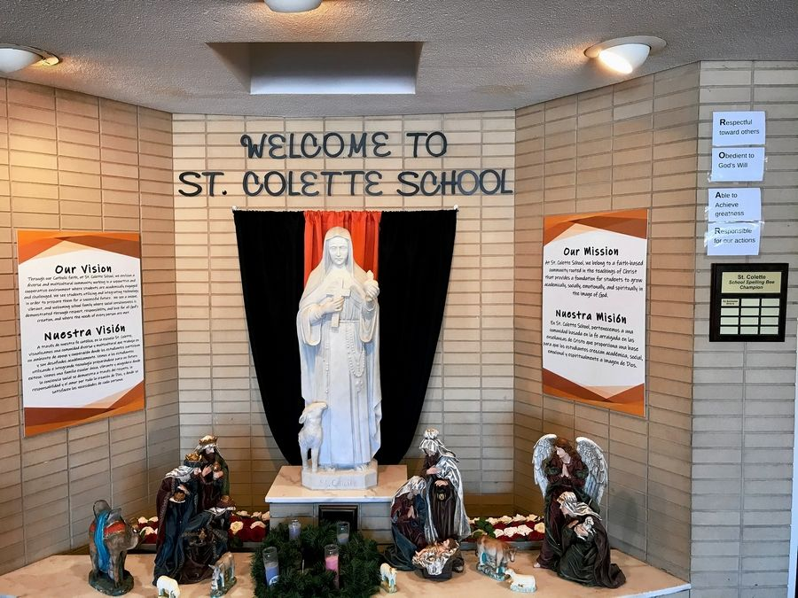 A dozen years after receiving a national award for educational excellence, St. Colette Catholic School in Rolling Meadows is facing closure due to declining enrollment and budget shortfalls.
