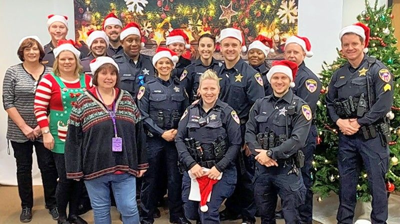 "The Wheaton Police Union MAP No. 699 recently held its first ""Shop With a Cop"" event, helping 11 children in the community."