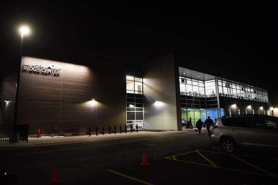 The Arlington Ridge Center was unveiled during a VIP event Thursday night following a $17 million renovation and expansion project. Its public opening is set for Dec. 31.