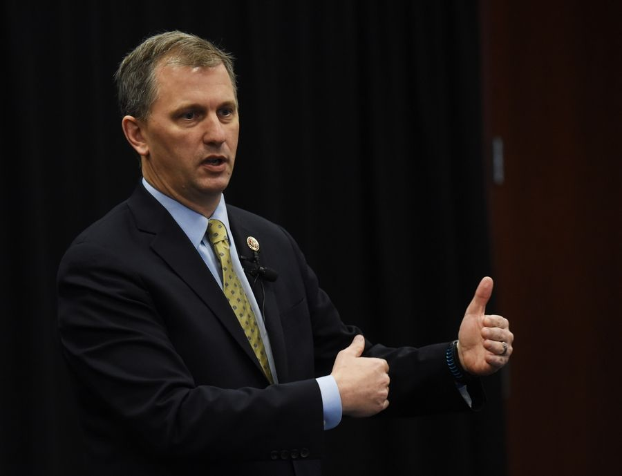 U.S. Rep. Sean Casten, a Downers Grove Democrat, told constituents Saturday that he was proud to be on the right side of history in voting to impeach President Donald Trump.