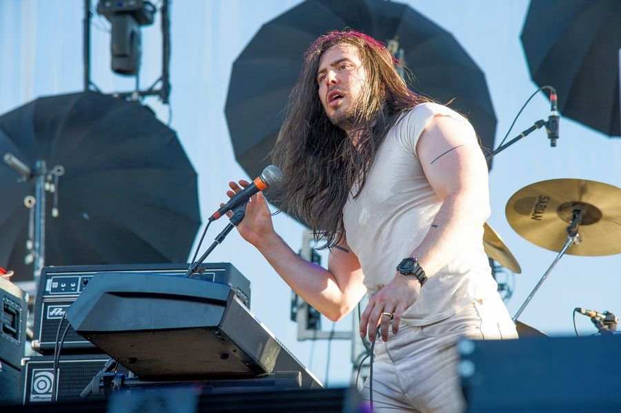 Andrew W.K. headlines a NYE show at Concord Music Hall with Air Credits, Rich Jones and the return of DJ Buck Foley.