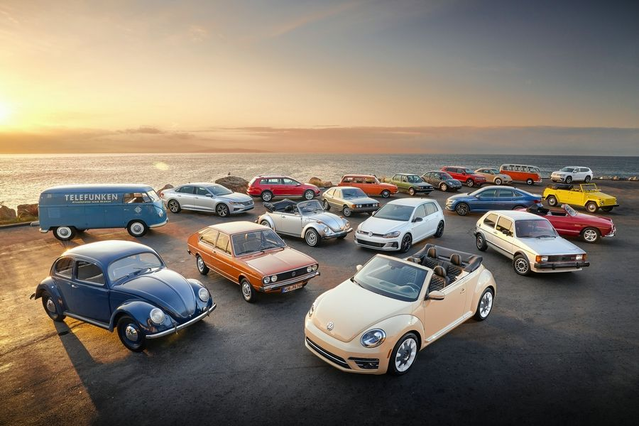 Volkswagen is celebrating the 70th anniversary of its arrival on U.S. shores.