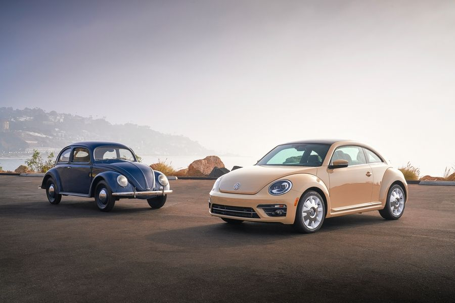 1949 Beetle and 2019 Beetle Final Edition