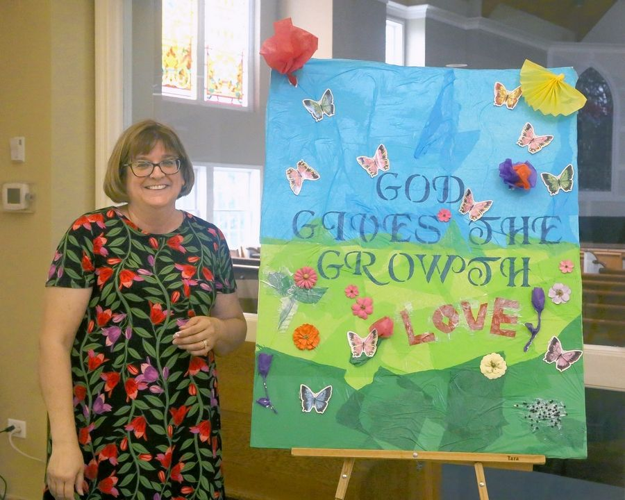 Pastor Jeanne Davies leads a West Dundee worship ministry, called the Parables Community, that offers inclusive services and fellowship opportunities for special needs individuals and their families.