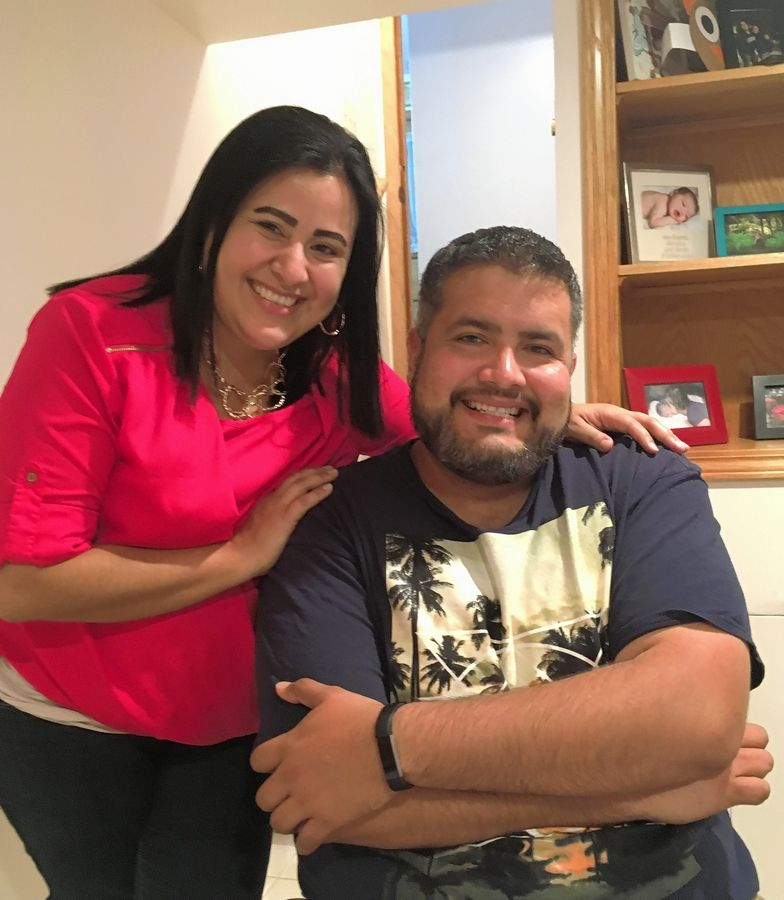 "Adriana Gomez-Martinez of Oak Lawn formed a close relationship with her cousin, the Rev. Manuel Gomez, after he moved to the United States in 2010 and became a priest in the Fox Valley area three years later. ""When he smiled, he lit up the room,"" she said."